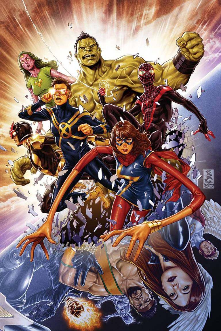 Champions #1 (Mark Brooks Champions Variant Cover)