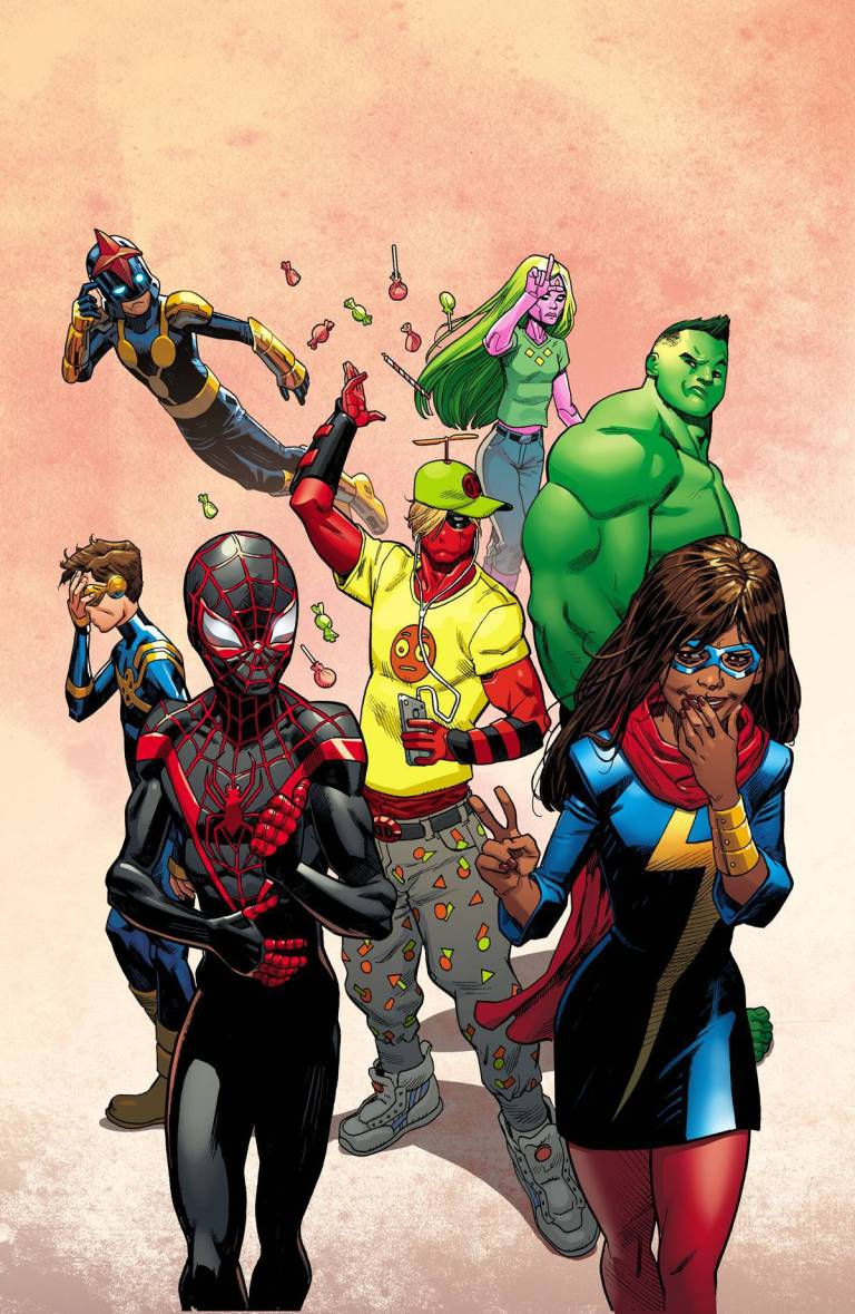 Champions #1 (Mike Hawthorne Deadpool Variant Cover)
