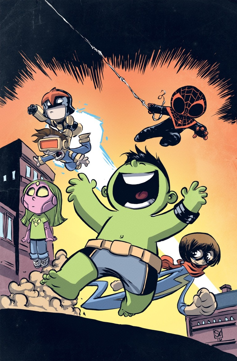 Champions #1 (Skottie Young Variant Cover)