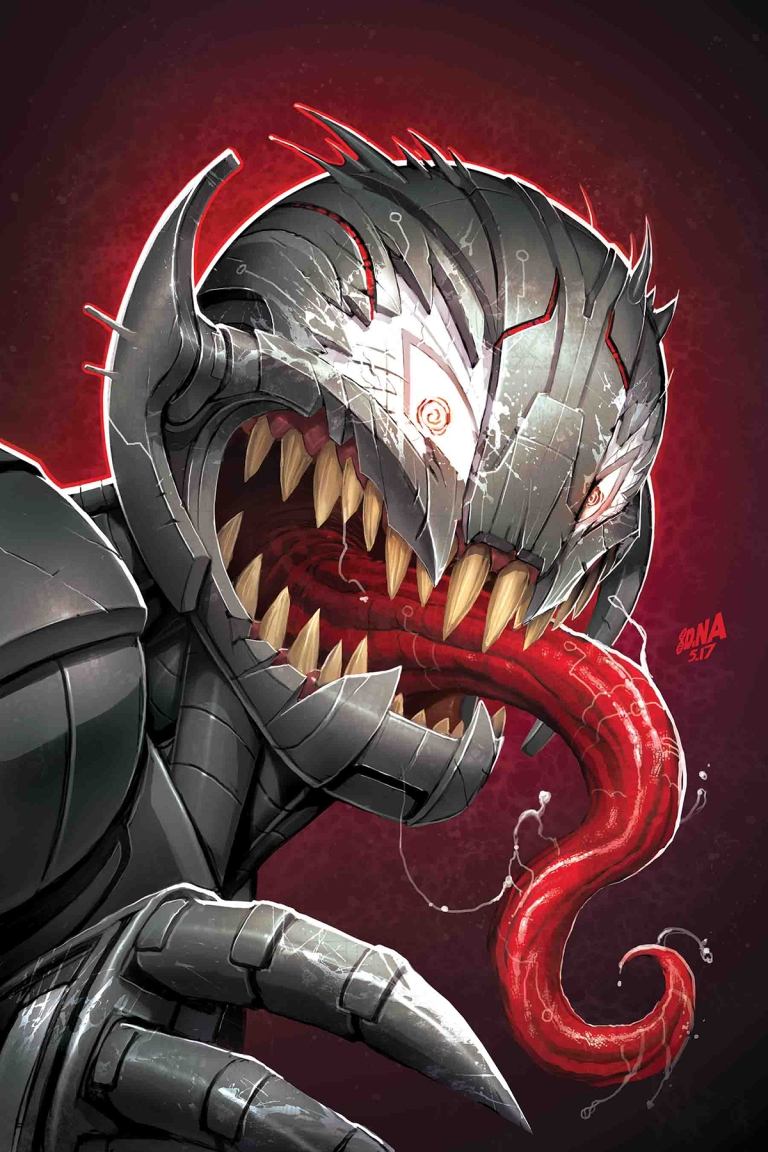 Champions #12 (Cover B David Nakayama Venomized Ultron Variant)