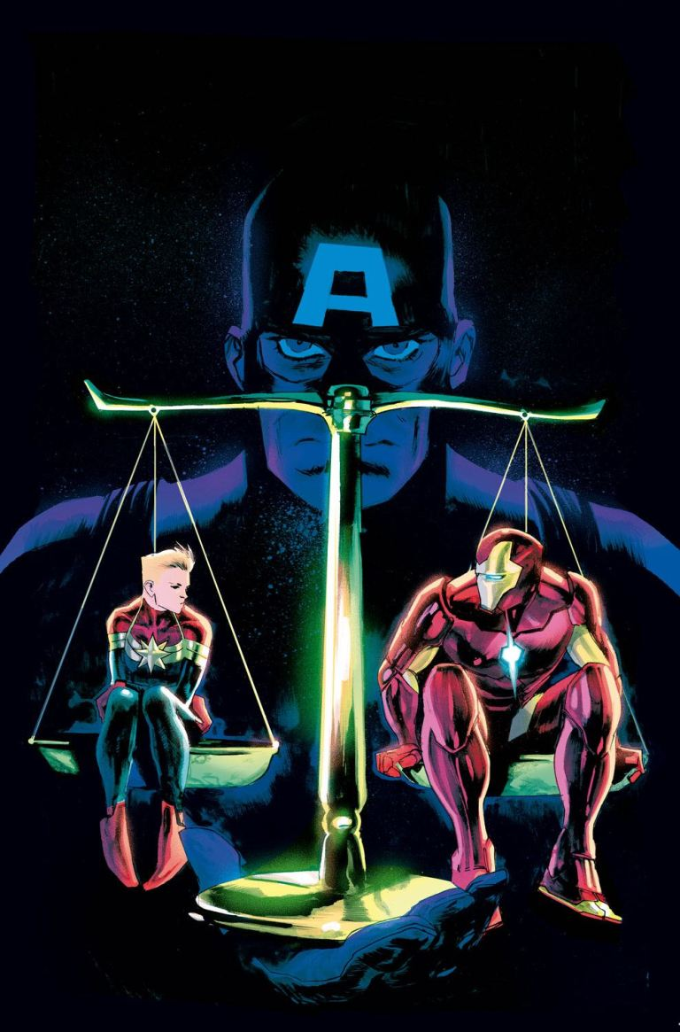 Civil War II The Oath #1 (Rafael Albuquerque Variant Cover)