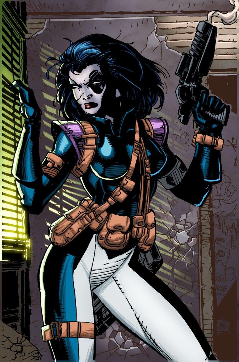 Daredevil #23 (Cover B Jim Lee X-Men Trading Card Variant)