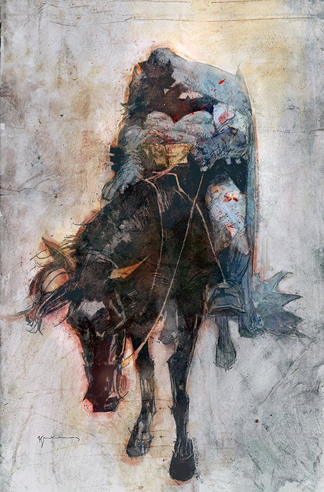 Dark Knight III The Master Race #8 (Cover D Bill Sienkiewicz)