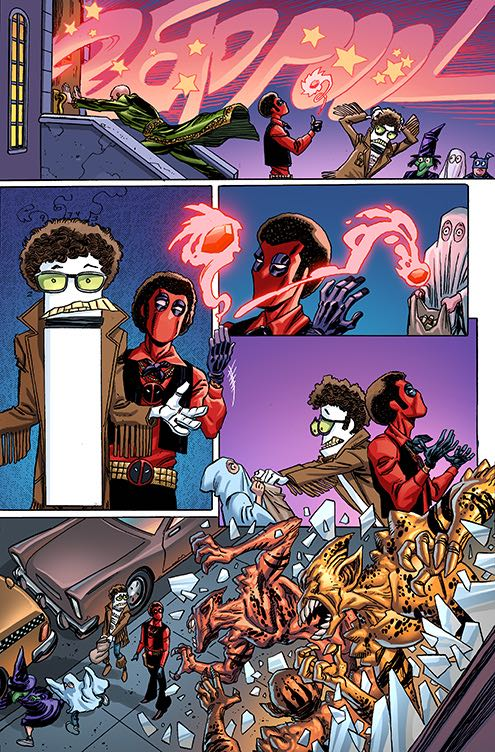 Deadpool #25 (Cover C Scott Koblish Secret Comics Variant)