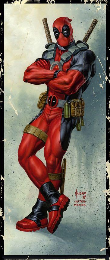 Deadpool #26 (Cover B Joe Jusko Corner Box Variant)