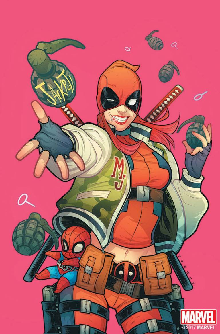 Deadpool #32 (Cover C Elizabeth Torque Mary Jane Variant)