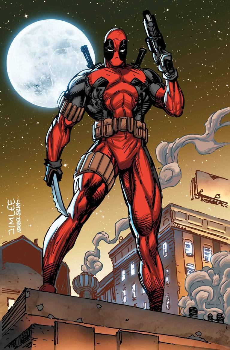 Deadpool #33 (Cover C Jim Lee X-Men Trading Card Variant)
