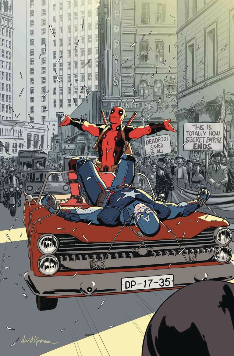 Deadpool #35 (Cover A David Lopez)