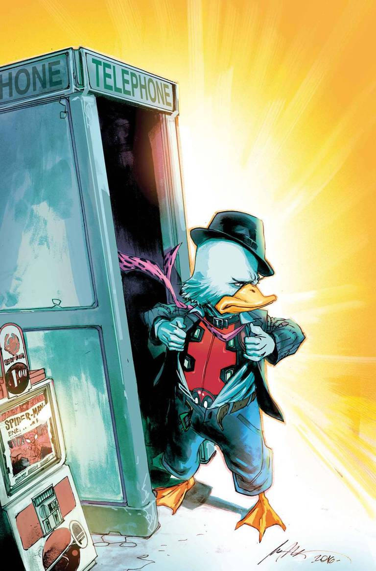 Deadpool The Duck #1 (Rafael Albuquerque Variant Cover)