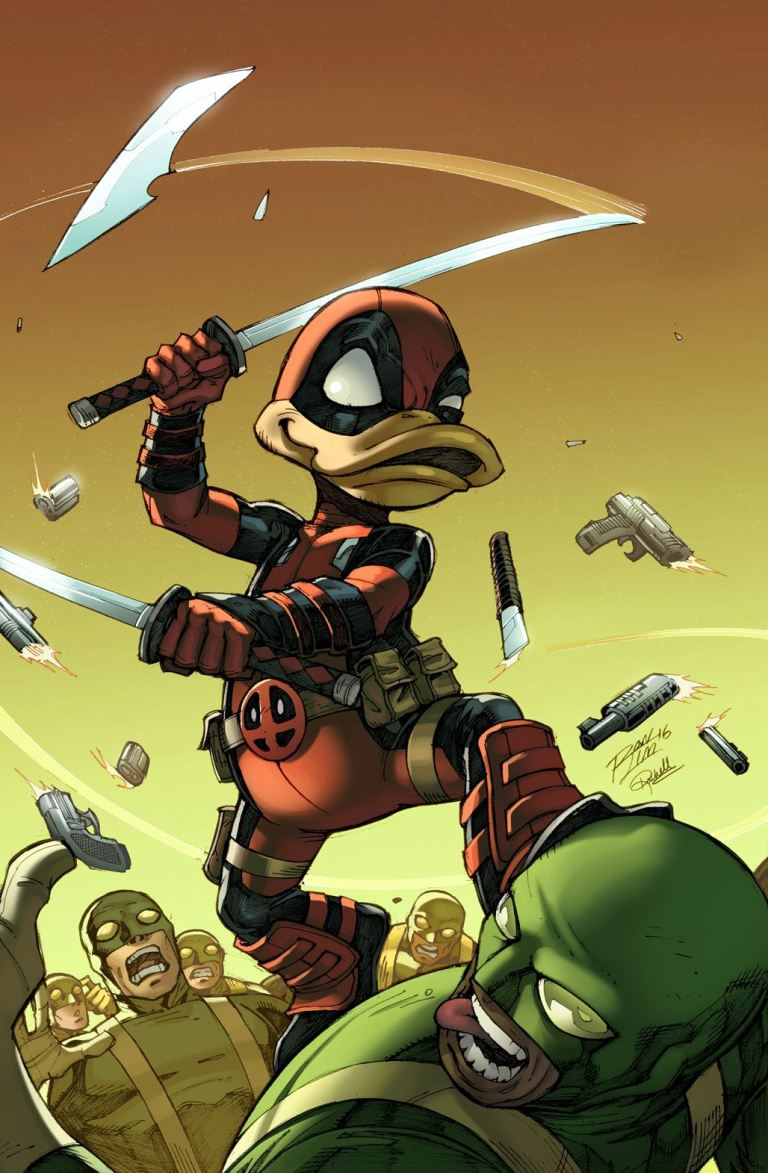 Deadpool The Duck #1 (Ron Lim Variant Cover)