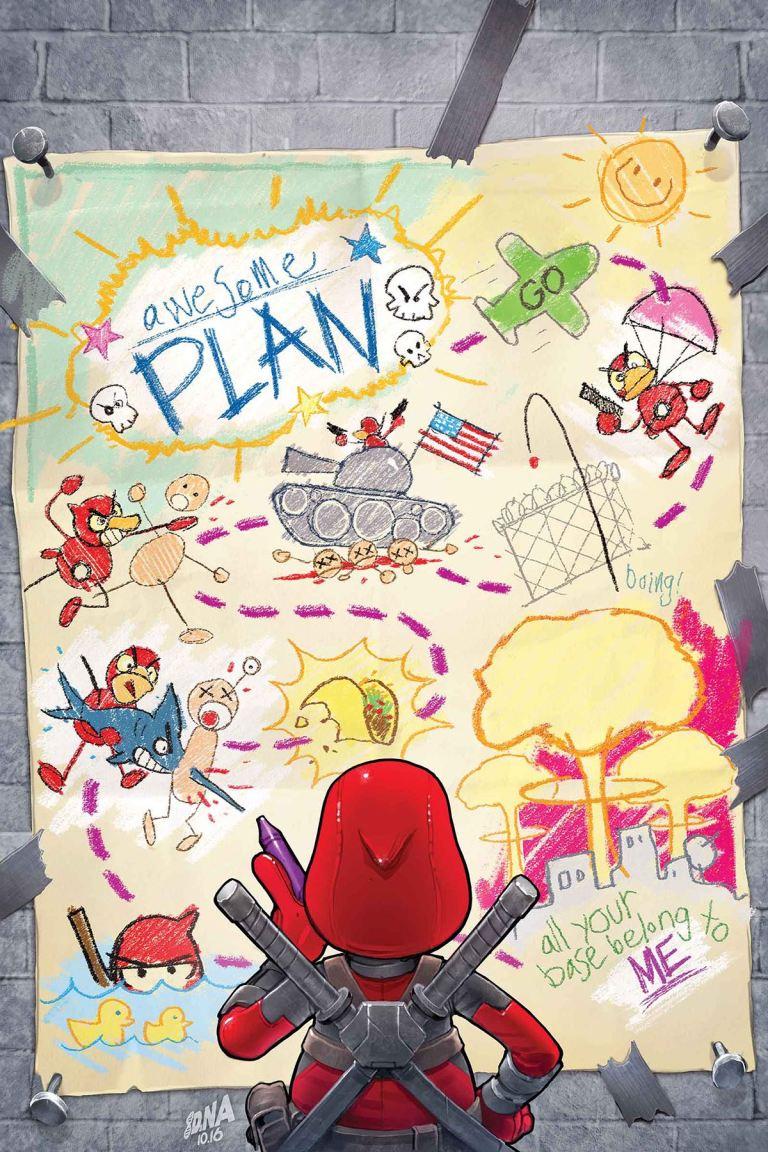 Deadpool The Duck #3 (David Nakayama Regular Cover)