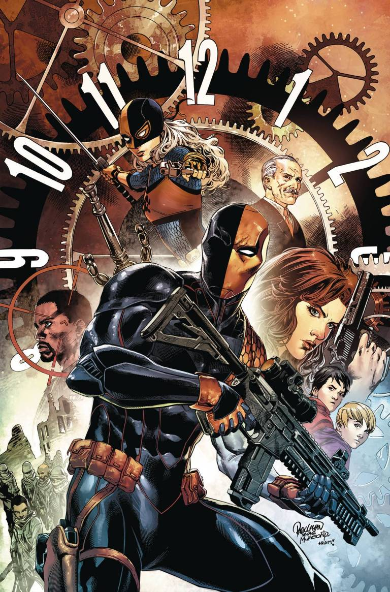 Deathstroke #1 (Cover A Carlo Pagulayan & Jason Paz)