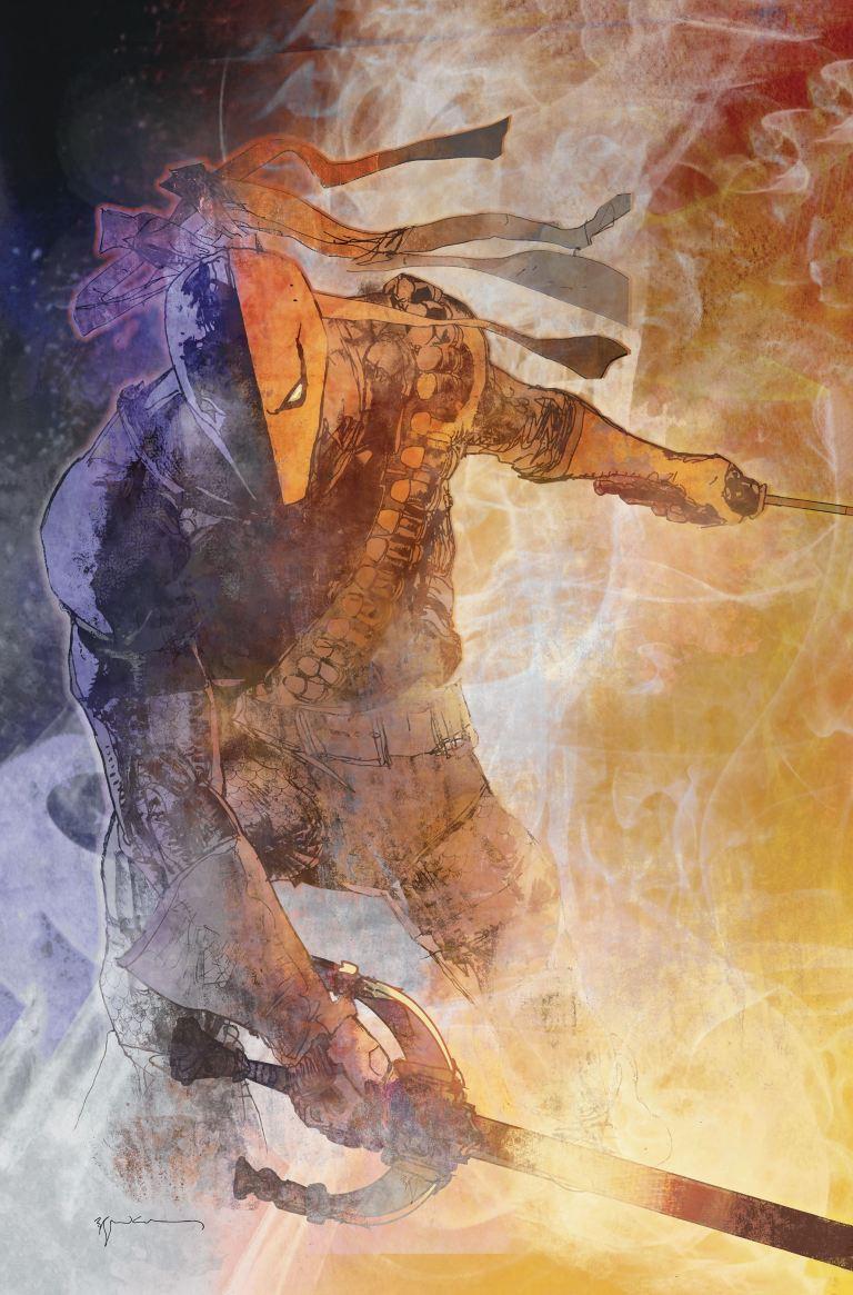 Deathstroke #12 (Cover A Bill Sienkiewicz)