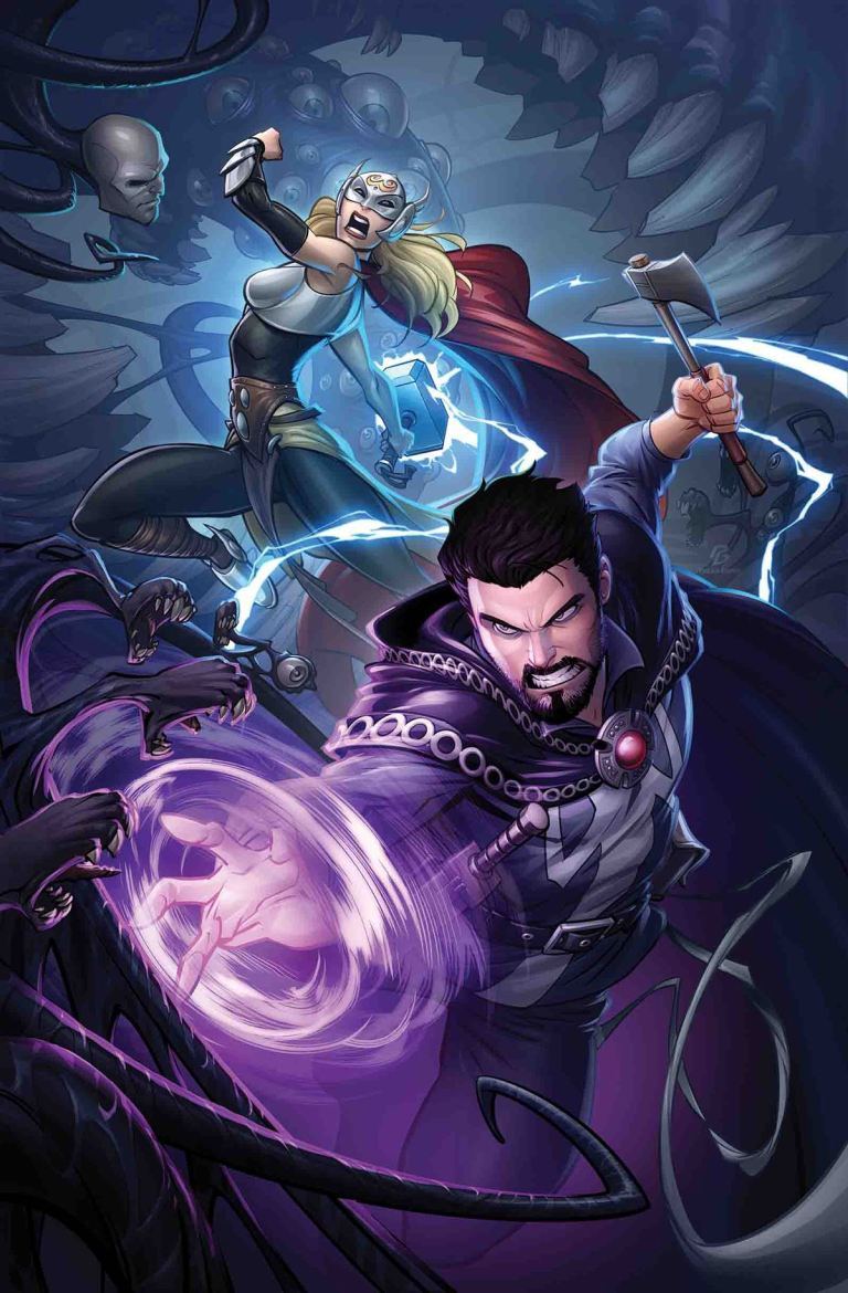 Doctor Strange #18 (Patrick Brown Regular Cover)
