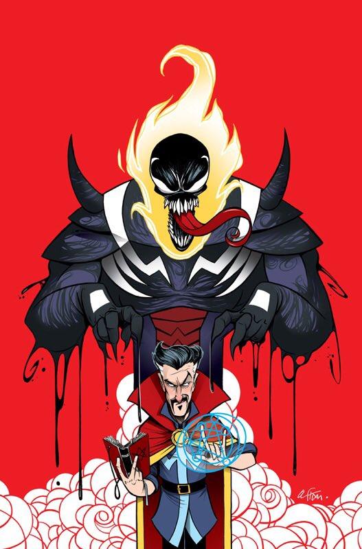 Doctor Strange #25 (Cover B Gustavo Duarte Venomized Dormammu Variant)