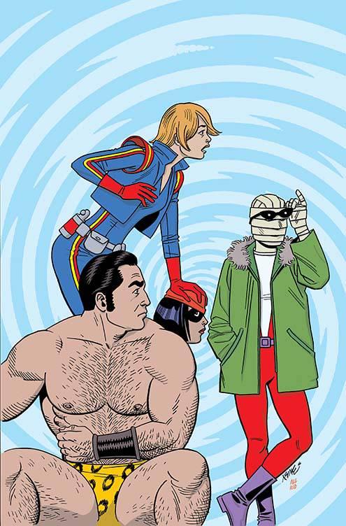 Doom Patrol #1 (Cover D Jaime Hernandez)