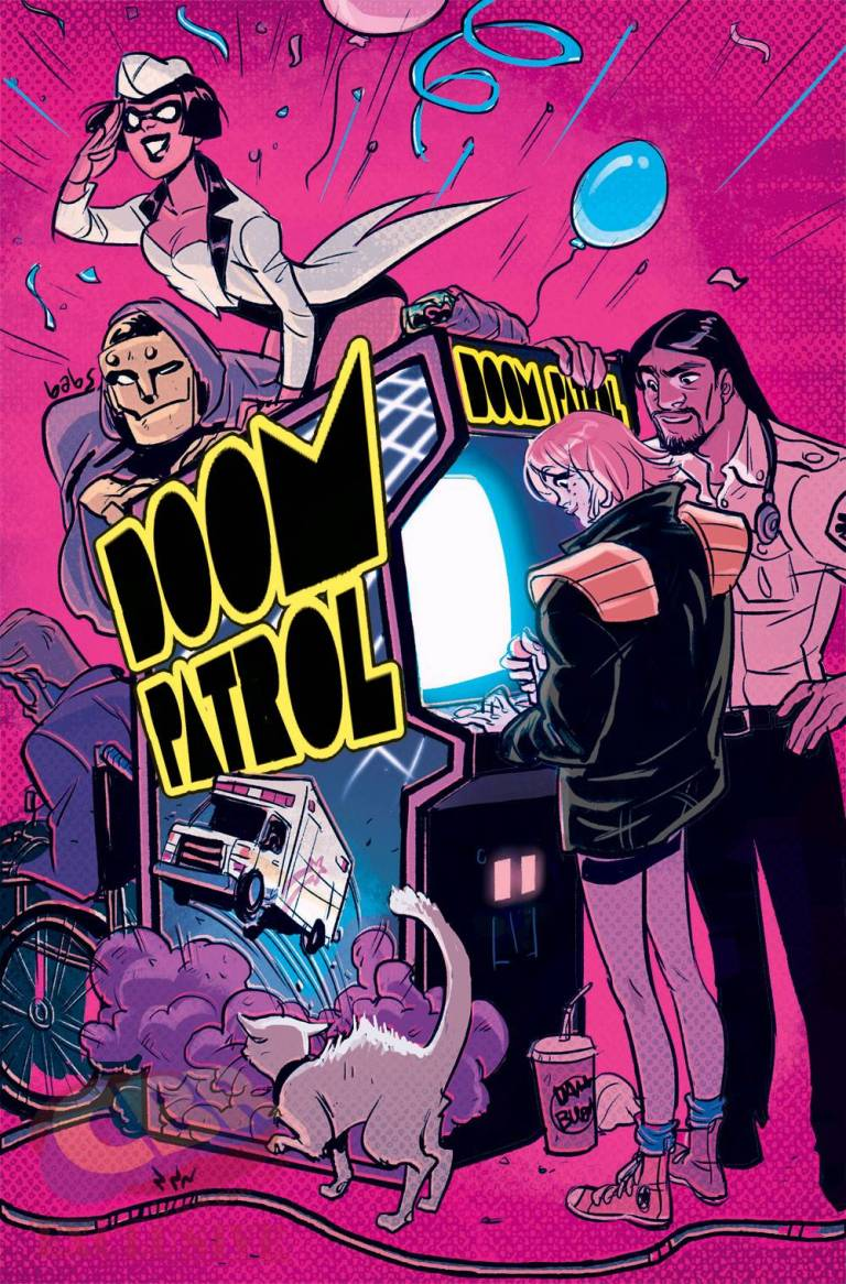 Doom Patrol #1 (Cover G Babs Tarr)