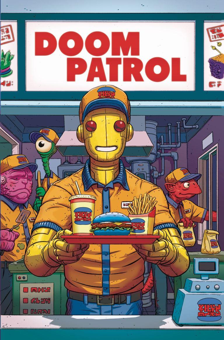 Doom Patrol #4 (Cover A Nick Derington)
