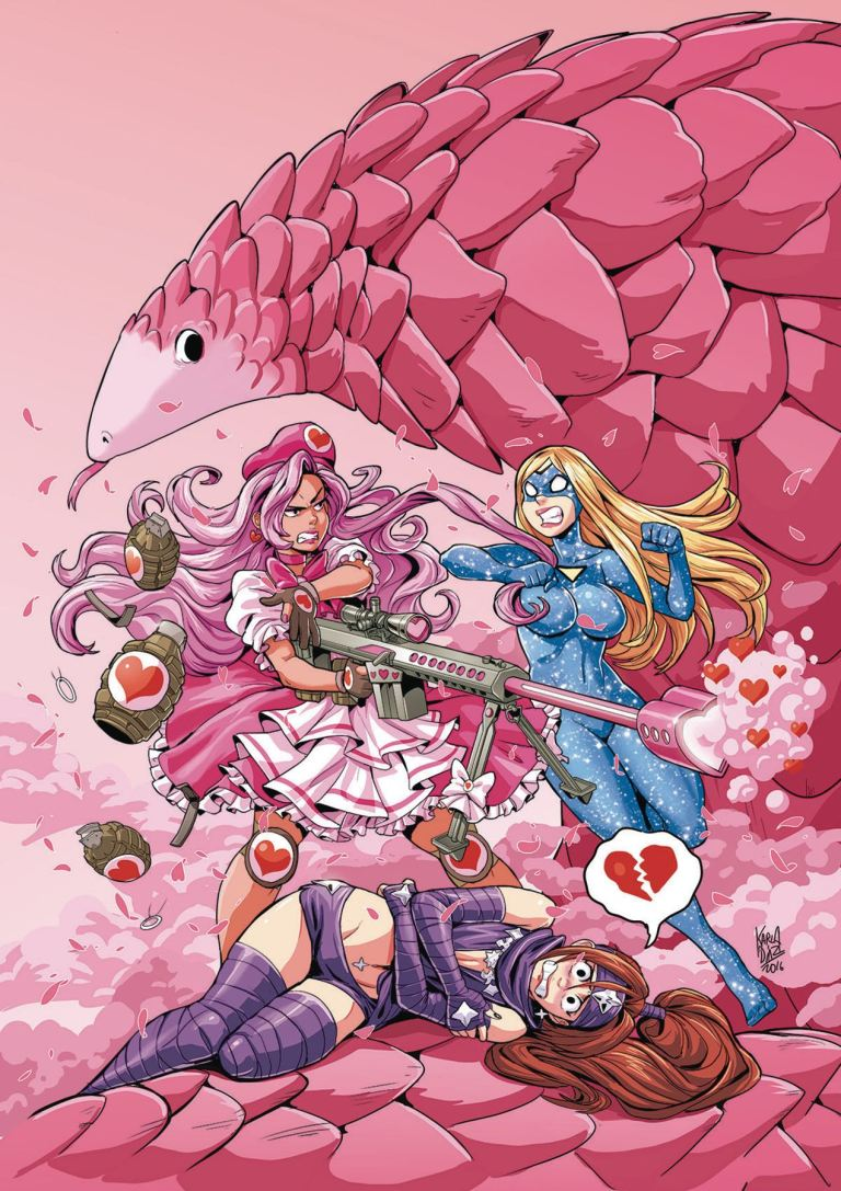 Empowered Soldier of Love #3 (Karla Diaz Cover)