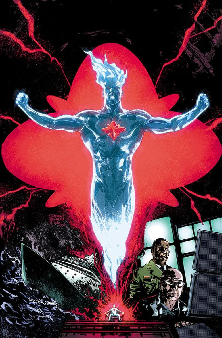 Fall And Rise Of Captain Atom #1 (Cover B Gabriel Hardman)