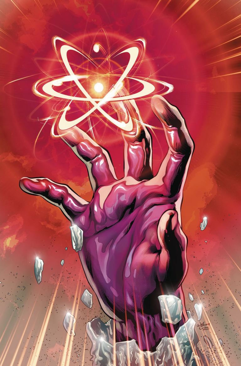 Fall and Rise of Captain Atom #2 (Will Conrad Cover)