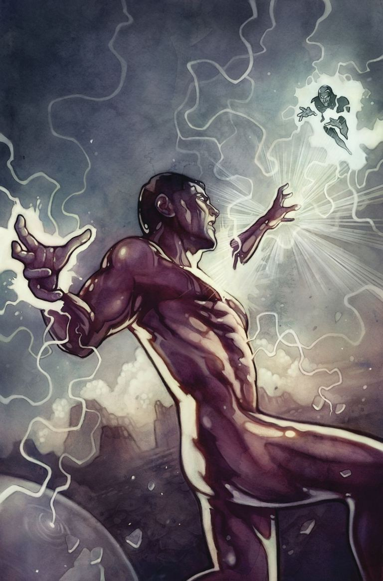 Fall And Rise Of Captain Atom #6 (Anna Dittman Cover)