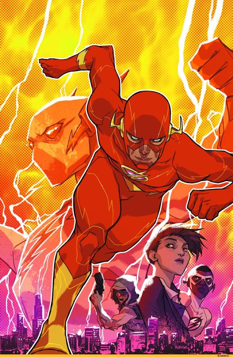 Flash #1 (Cover A Karl Kerschl)