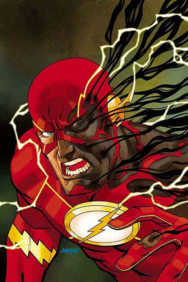 Flash #12 (Cover B Dave Johnson)