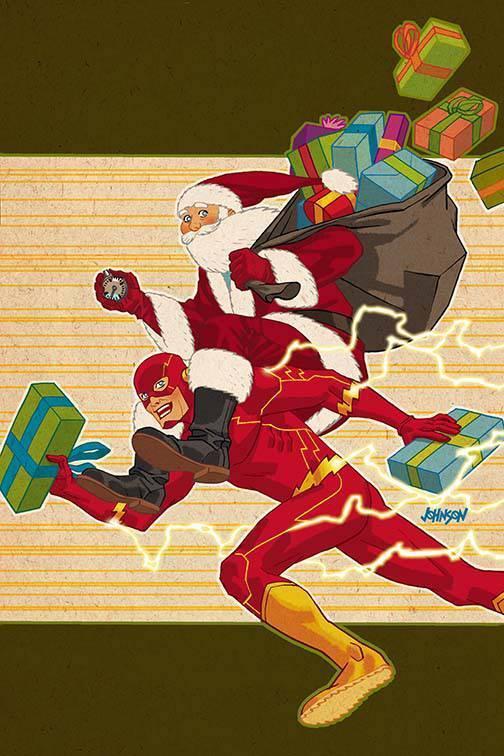 Flash #13 (Cover B Dave Johnson)