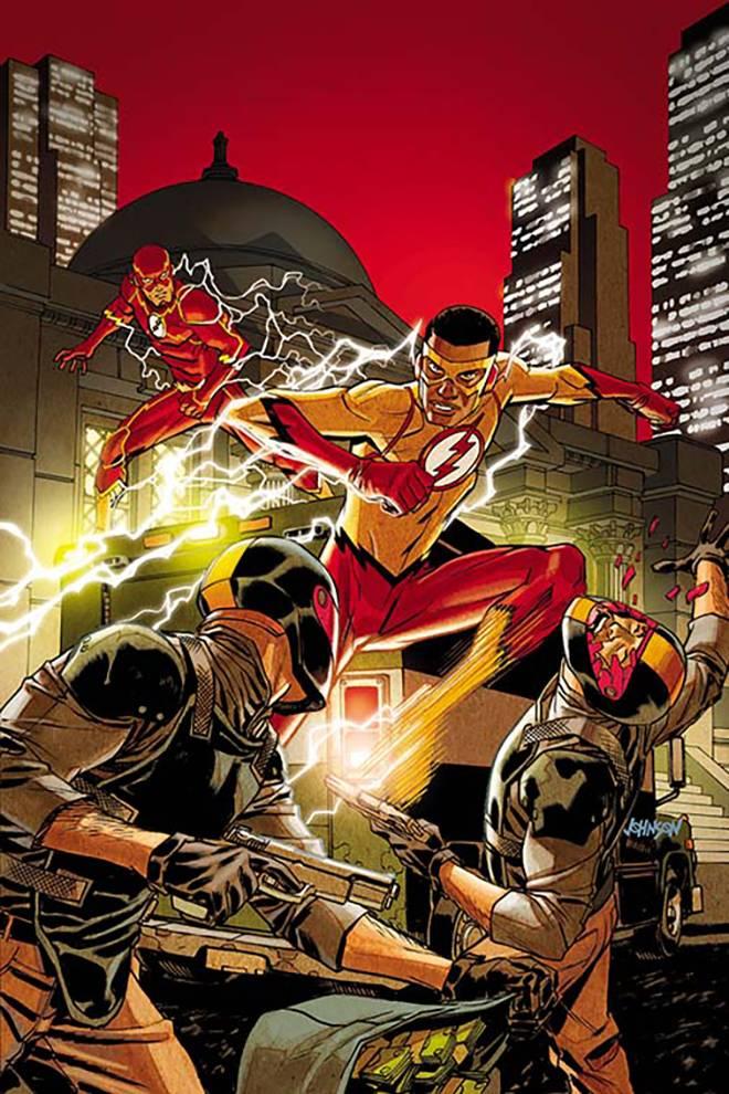 Flash #7 (Cover B Dave Johnson)