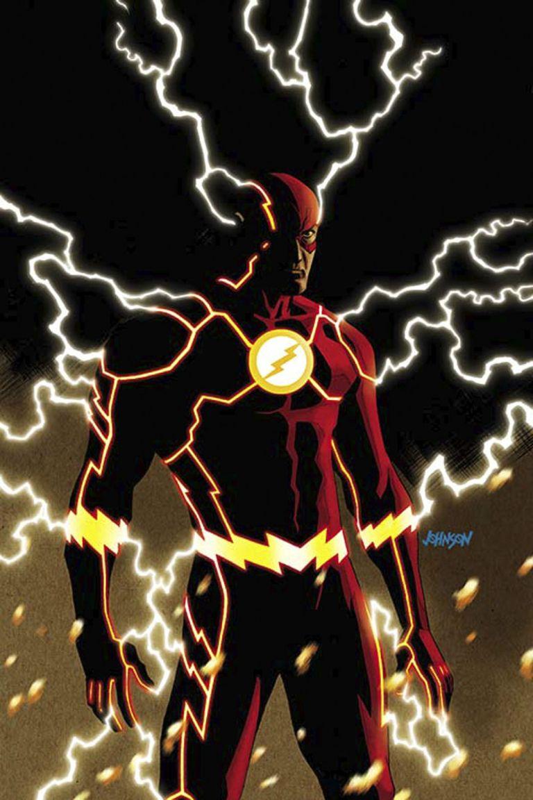 Flash #8 (Dave Johnson Cover)