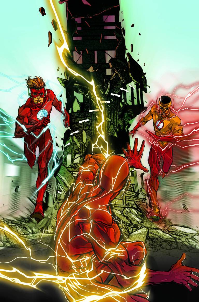 Flash #9 (Cover A Carmine Di Giandomenico)