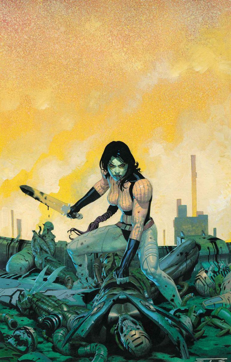Gamora #1 (Esad Ribic Regular Cover)