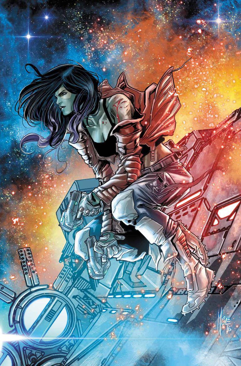 Gamora #1 (Marco Checchetto Variant Cover)