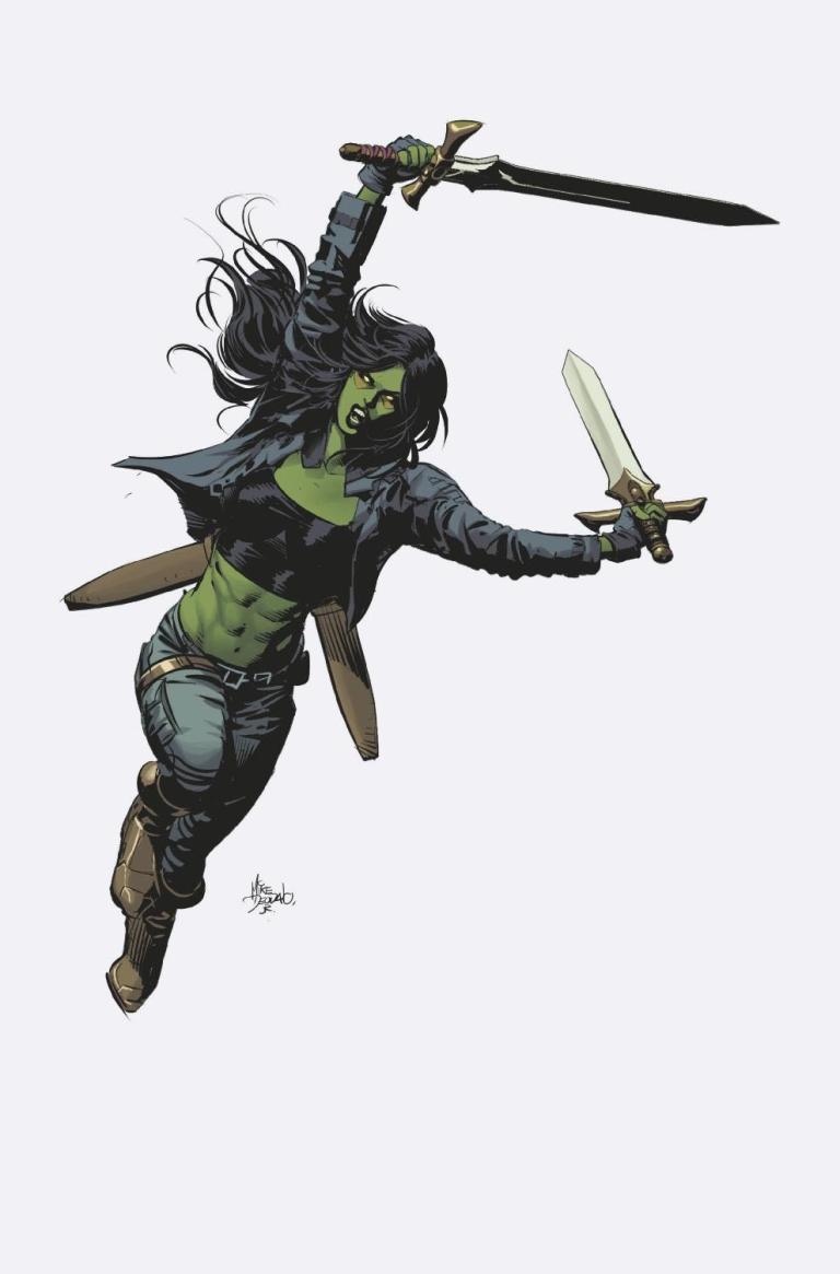 Gamora #1 (Mike Deodato Teaser Variant Cover)