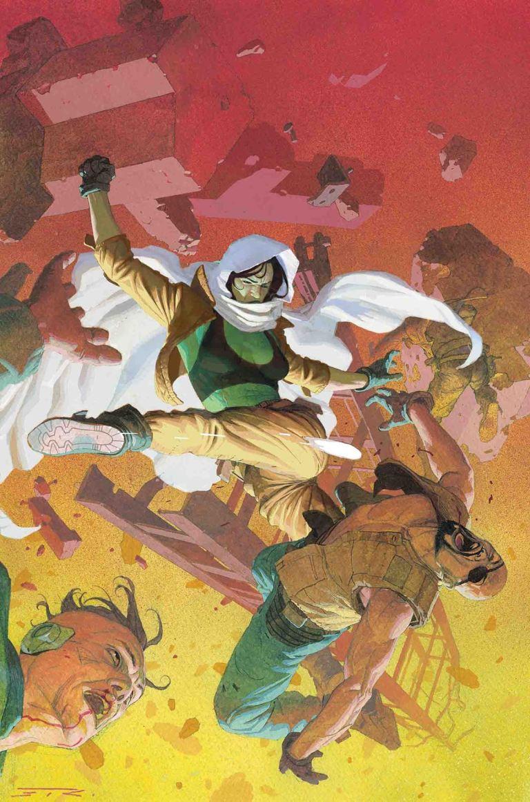 Gamora #4 (Esad Ribic Regular Cover)