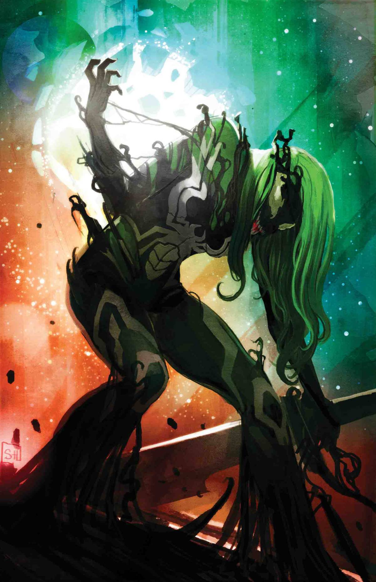 Gamora #4 (Stephanie Hans Venomized Variant Cover)