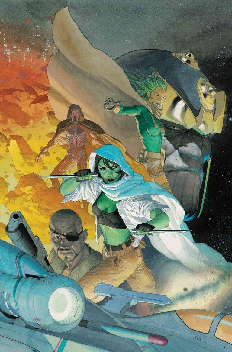 Gamora #5 (Esad Ribic Cover)