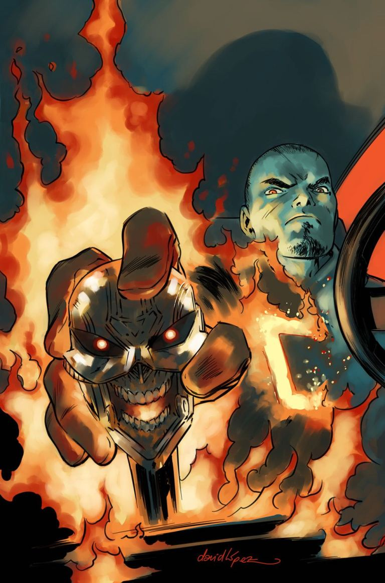 Ghost Rider #2 (David Lopez Variant Cover)