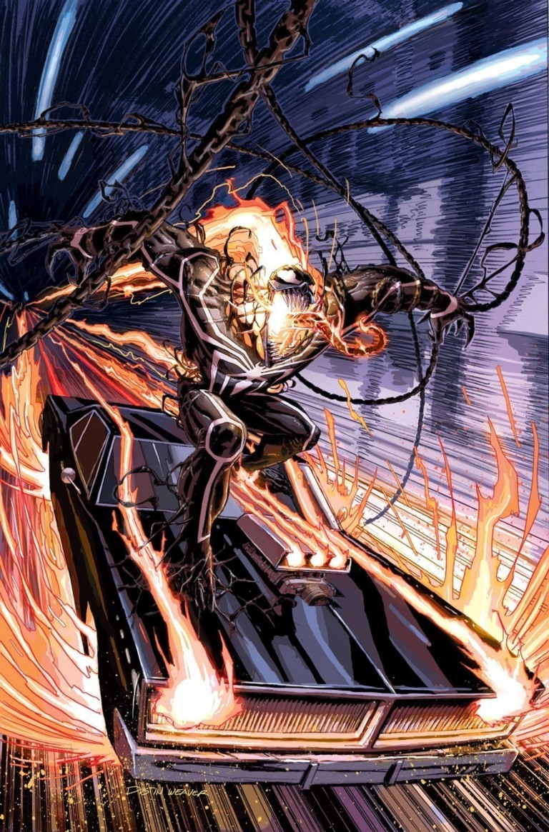 Ghost Rider #5 (Dustin Weaver Venomized Variant Cover)
