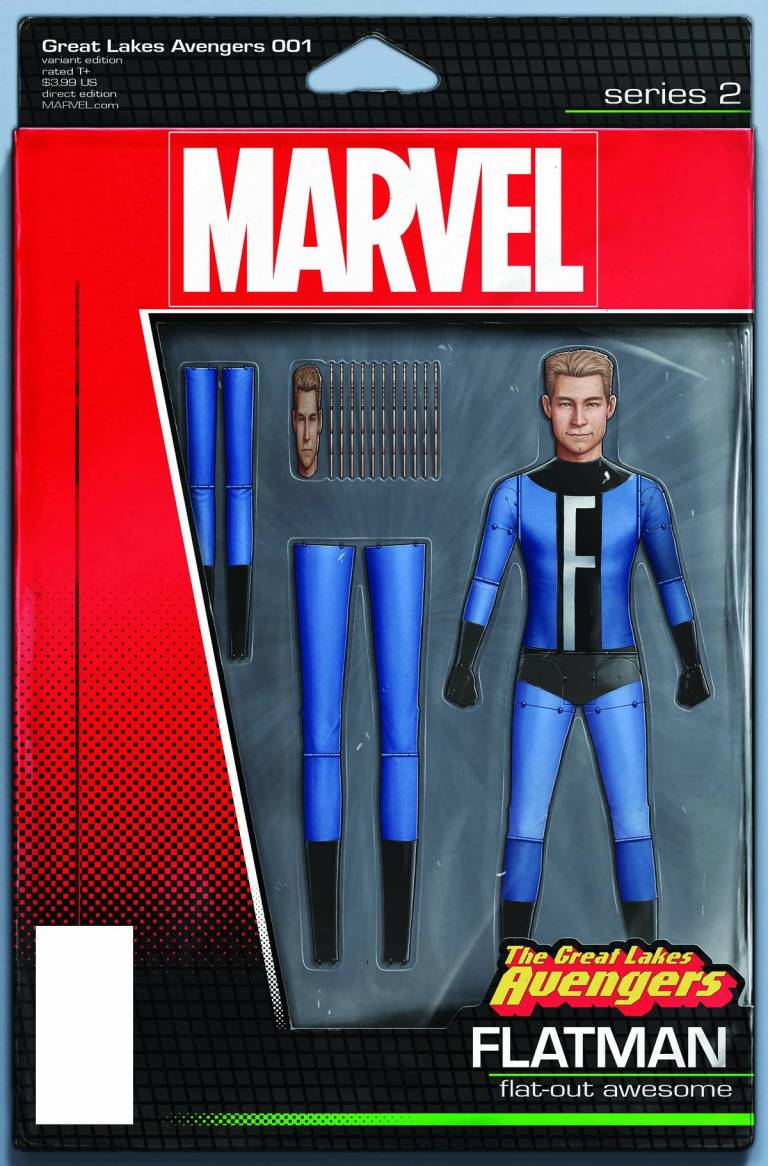 Great Lakes Avengers #1 (John Tyler Christopher Action Figure Variant Cover)