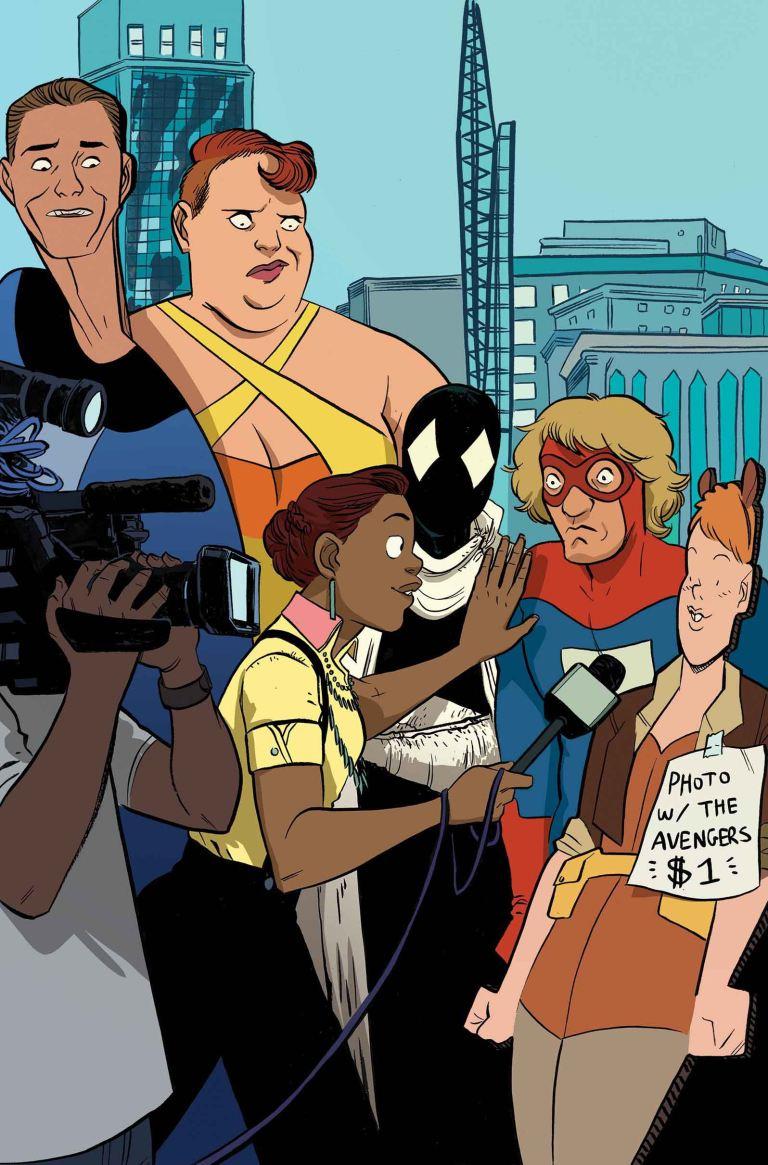 Great Lakes Avengers #3 (Erica Henderson Variant Cover)