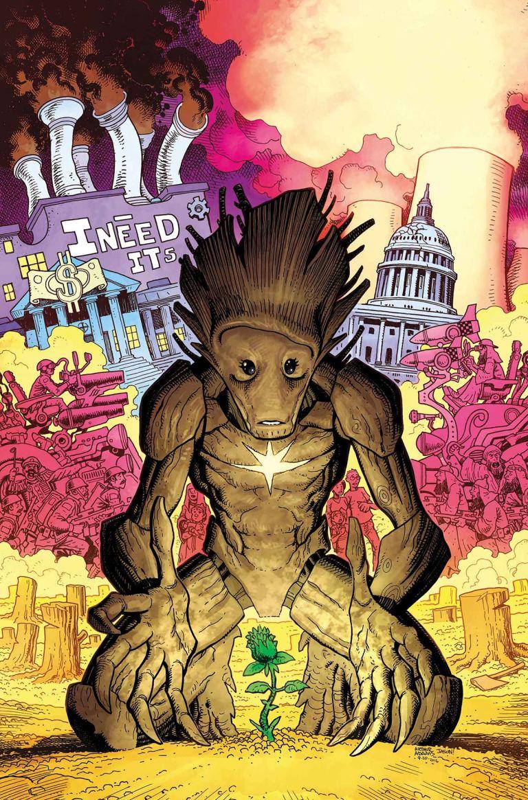 Guardians Of The Galaxy #16 (Arthur Adams Cover)