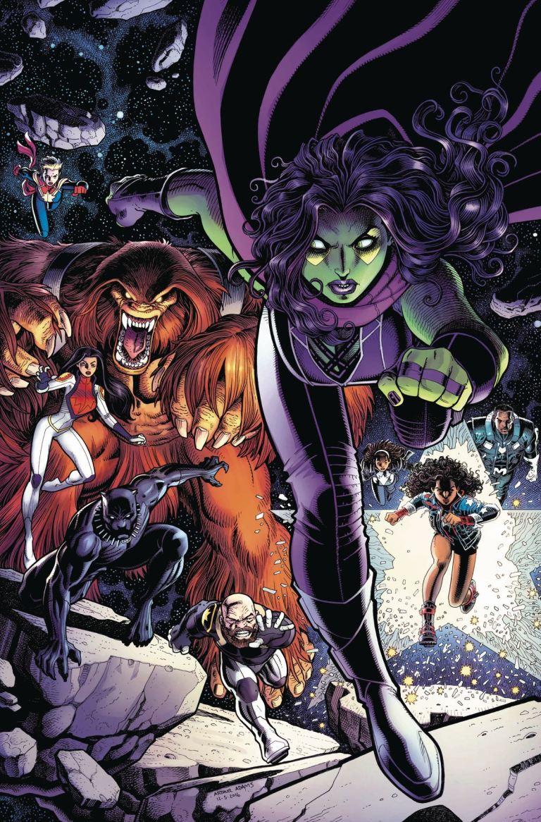 Guardians Of The Galaxy #17 (Cover A Arthur Adams)