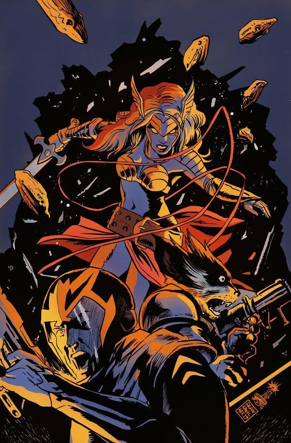 Guardians Of The Galaxy #17 (Cover B Francesco Francavilla Best Bendis Moments Variant)