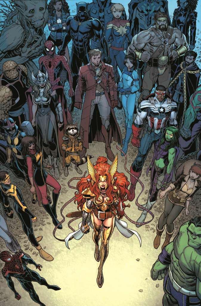 Guardians Of The Galaxy #18 (Arthur Adams Regular Cover)