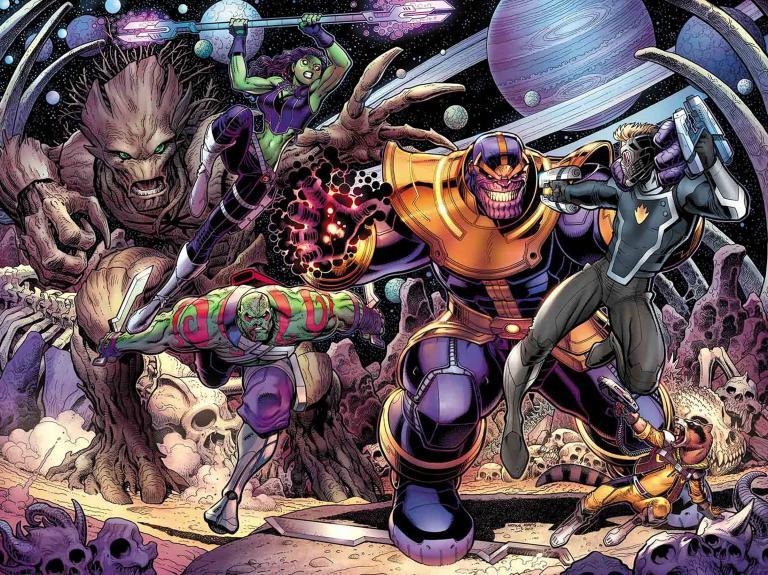 Guardians Of The Galaxy #19 (Cover A Arthur Adams)