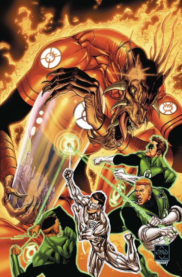 Hal Jordan And The Green Lantern Corps #12 (Cover A Ethan Van Sciver)
