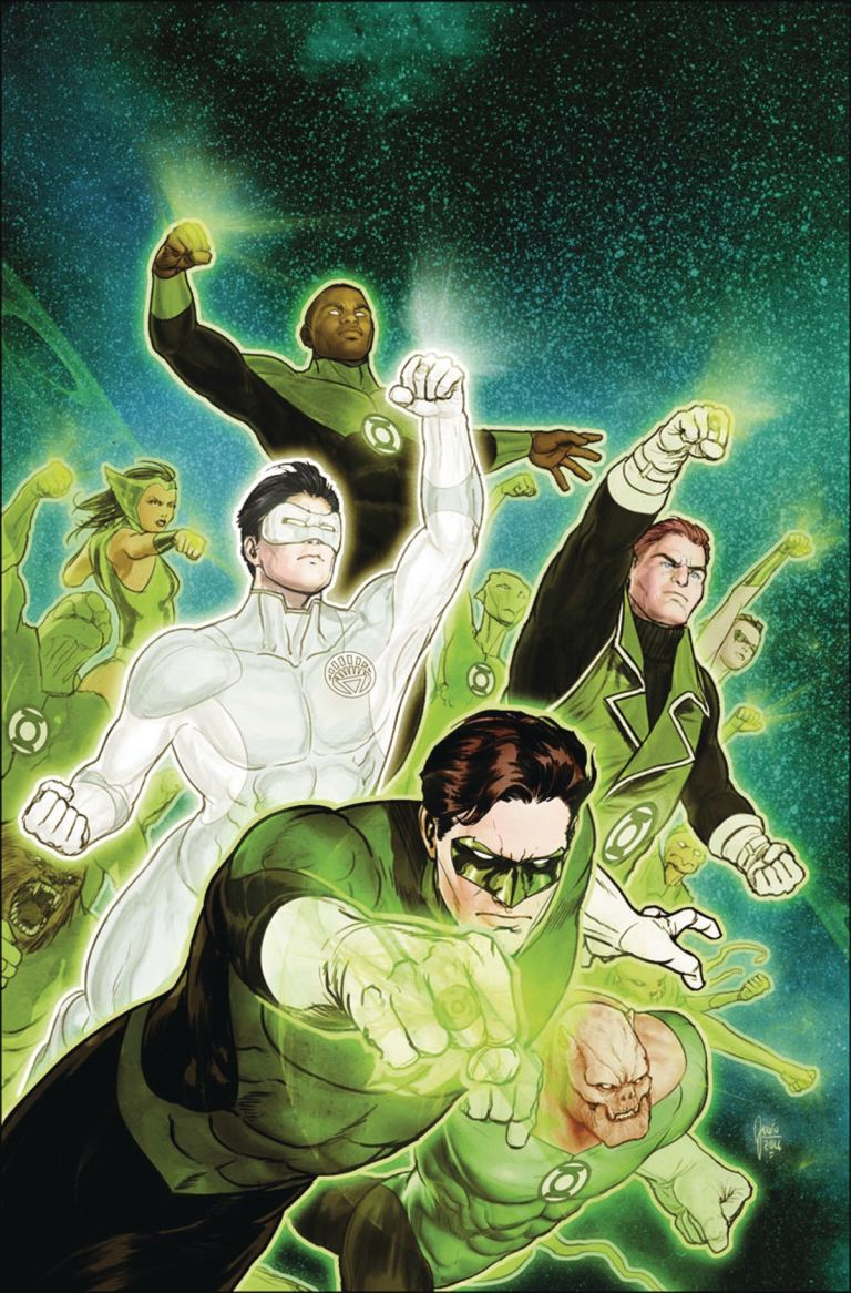 Hal Jordan And The Green Lantern Corps #13 (Cover A Ethan Van Sciver)