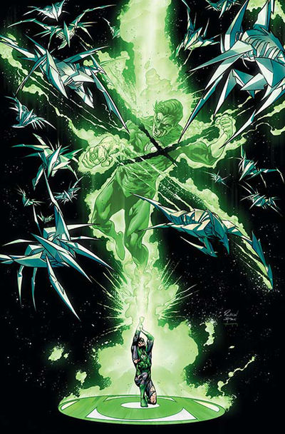 Hal Jordan And The Green Lantern Corps #19 (Cover A Mikel Janin)